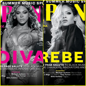 Beyonce & Rihanna Get Their Own Sexy Covers for 'Ebony' Magazine's June 2014 Issue!