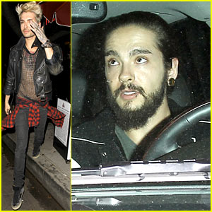 [@ USA] Bill et Tom Kaulitz de Tokio Hotel font une rare apparition publique Bill-tom-kaulitz-make-rare-public-appearance