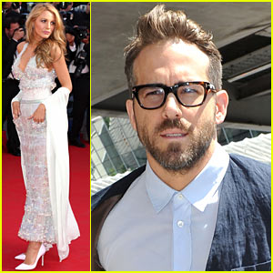 Blake Lively Keeps Her Hands in the Pockets of her Sheer Chanel Couture Gown!