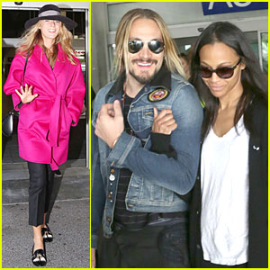 Blake Lively & Zoe Saldana Jet to Nice Before Cannes Film Festival Kicks Off!