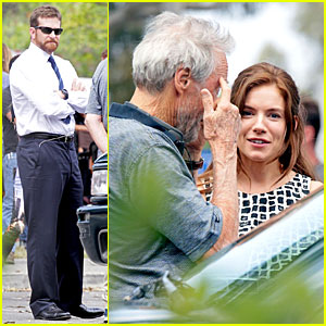 Bradley Cooper Gets Serious Filming Done on 'American Sniper' Set!