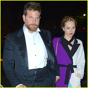 Bradley Cooper & Suki Waterhouse Hold Hands at Met Ball 2014 After Party!
