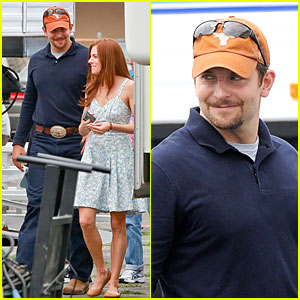 Bradley Cooper Has the Texas Longhorns on His Mind During Filming!