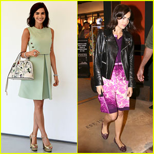 Camilla Belle Continues Her Tour of Brazil with Gucci!