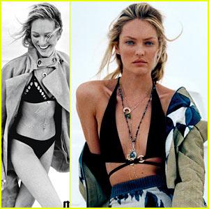 Victoria's Secret Model Candice Swanepoel is Bikini Beautiful for 'Marie Claire'!