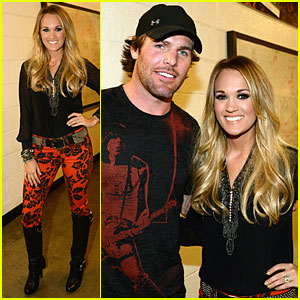 Carrie Underwood Brings Mike Fisher to Keith Urban's We're All 4 The Hall Concert!