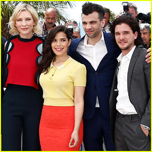 Cate Blanchett & America Ferrera Bring Pops of Color to 'How to Train Your Dragon 2' Cannes Photo Call