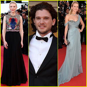 Cate Blanchett & Kit Harington Comfort America Ferrera After Man Hides in Her Dress at Cannes