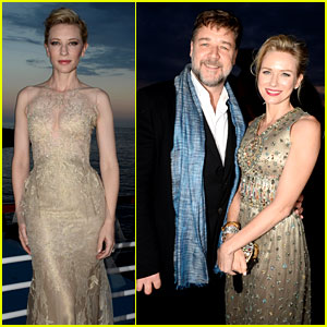 Cate Blanchett & Naomi Watts Are Aussies for Armani in Cannes!