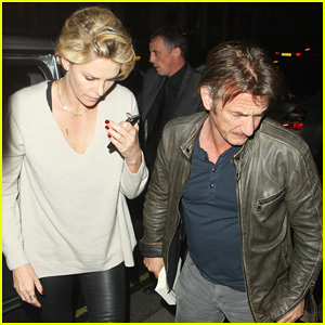 Charlize Theron & Sean Penn Call It a Night After Late Night Dinner in London!