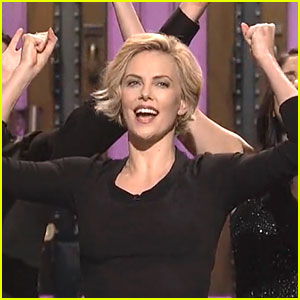 Charlize Theron Sings About Not Being Able to Sing on 'SNL'!