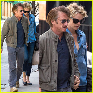 Charlize Theron & Sean Penn Hold Hands on Romantic Stroll After Met Ball!