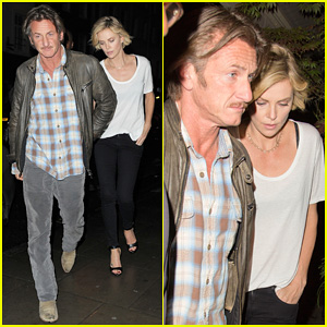 Charlize Theron & Sean Penn Step Out for Memorial Day Dinner Date in London!