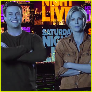 Charlize Theron Gets Turned Blue in New 'Saturday Night Live' Promos - Watch Now!