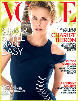 Charlize Theron Opens Up About Dating Sean Penn for 'Vogue'
