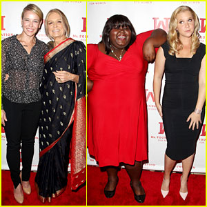 Chelsea Handler & Other Funny Ladies Attend the Gloria Awards!