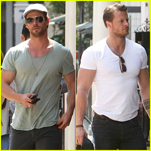 Chris Hemsworth's Pal is Giving His Muscles Some Competition!