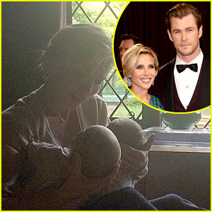 Chris Hemsworth's Wife Elsa Pataky Shares Photo of Their Twins