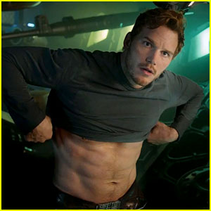 Chris Pratt Flaunts Ripped Abs in New 'Guardians of the Galaxy' Trailer Teaser!