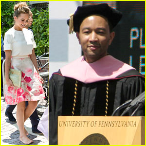 John Legend Gives Moving Commencement Speech at University of Pennsylvania - Watch Now
