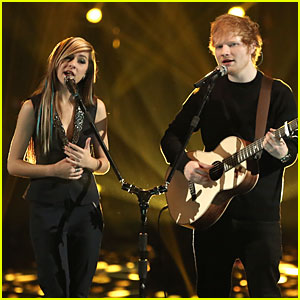 Christina Grimmie & Ed Sheeran Perform on 'The Voice' Finale - Watch Now