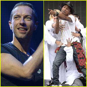 Coldplay & Pharrell Bring 'Happy' to BBC Radio 1's Big Weekend!