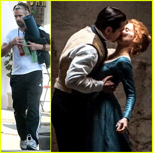 Colin Farrell Kisses Jessica Chastain in New 'Miss Julie' Still!