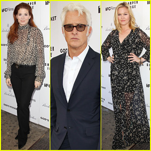 Debra Messing Shows Her Support for Philip Seymour Hoffman at 'God's Pocket' Screening!