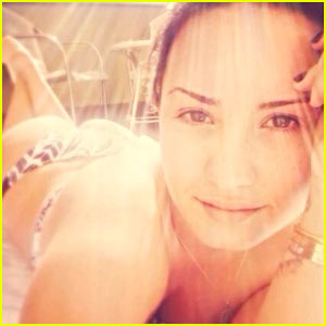 Demi Lovato Puts Her Bottom On Display in Thong Bikini - See the Pic!
