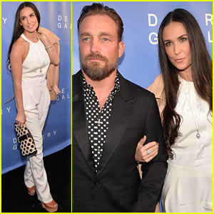 Demi Moore & Beau Sean Friday Still Going Strong, Party at De Re Gallery Opening