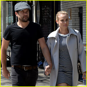 Diane Kruger & Joshua Jackson Continue Being Quite the Cute Couple