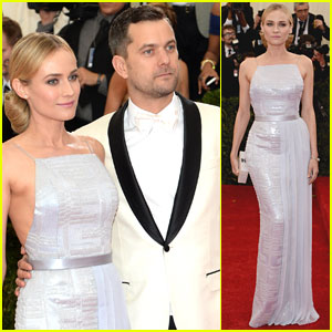 Diane Kruger & Joshua Jackson Make for One Hot Couple at Met Ball 2014!