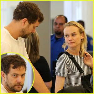 Diane Kruger & Joshua Jackson Head Out of Town Together