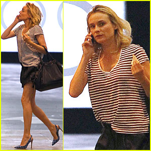 Diane Kruger Is Spreading the Word on 'The Bridge' at 'The Times'!