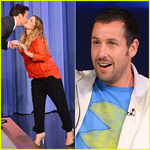 Drew Barrymore & Jimmy Fallon Switch Lips to Sing 'Grease' - Watch Now!
