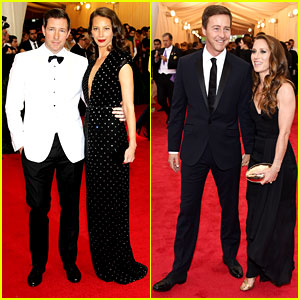Edward Burns & Edward Norton Suit Up for the Met Ball 2014!