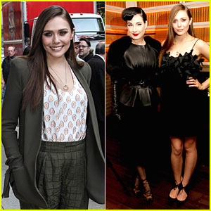 Elizabeth Olsen & Dita Von Teese 'Flaunt' Their Beauty at Shark Issue Cover Party!