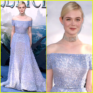 Elle Fanning Sparkles Like a Princess at 'Maleficent' Hollywood Premiere!