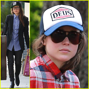 Ellen Page Eats Ikea Takeout with Justin Bieber in Her Dreams!