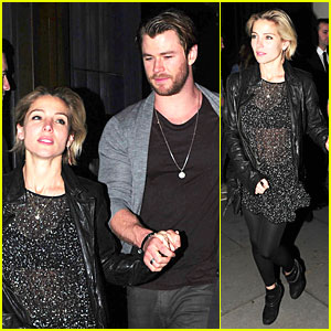 Elsa Pataky Rocks Sexy Sheer Top For Chris Hemsworth!