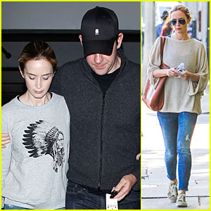 Emily Blunt & John Krasinski Buy A $2.575 Million Love Nest in Hollywood Hills West!