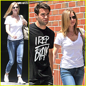 Aww... Emily VanCamp & Josh Bowman Get Their Hair Done Together!