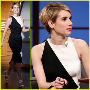 Emma Roberts Dishes on Ghost Tour Experience on 'Late Night with Seth Meyers'