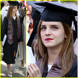 Emma Watson Becomes an Official Brown University Graduate - See the Pics Here!