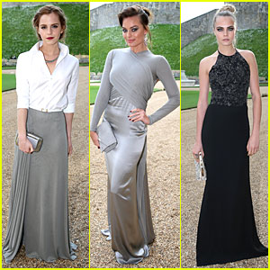 Emma Watson & Margot Robbie Bring Serious Class to Royal Marsden Dinner!