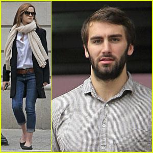 Emma Watson & Matthew Janney Grab Breakfast Before Brown Graduation!