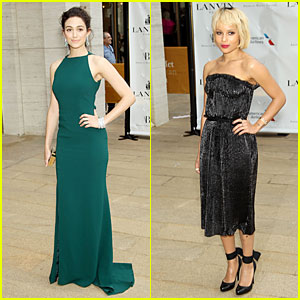 Emmy Rossum & Zoe Kravitz Dress to Impress at American Ballet Theatre Gala!