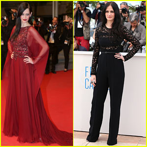 Eva Green Switches From Pants to Gown for 'The Salvation' Cannes Events!