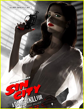 Eva Green's Super Revealing 'Sin City: A Dame to Kill For' Poster Deemed Too Racy By MPAA