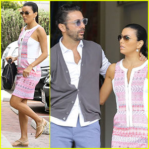 Eva Longoria Goes on Cozy Malibu Shopping Trip with Boyfriend Jose Antonio Baston!